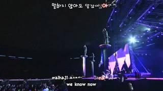 JYJ - Nine (JS focus) [eng + rom + hangul + karaoke sub]