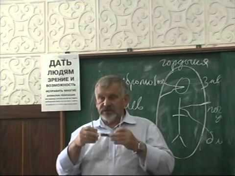 Восстановление зрения - лекция профессора Жданова