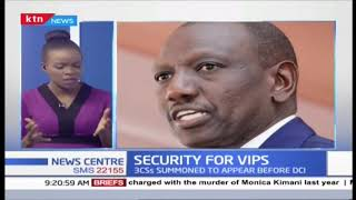 Do Kenyan VIPS have adequate security