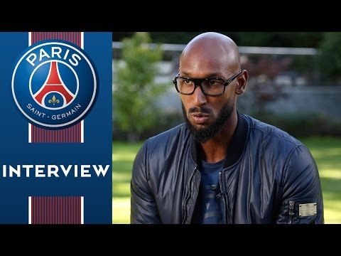 INTERVIEW NICOLAS ANELKA - PARIS SAINT-GERMAIN vs ARSENAL