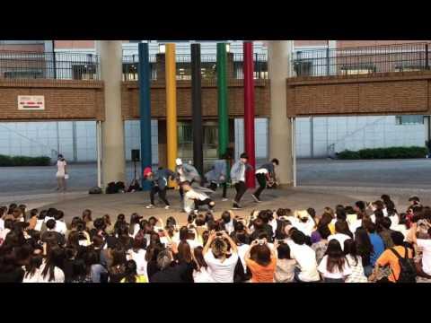 関西外大 ダンス BTS 完コピ (피땀 눈물&NOT TODAY)