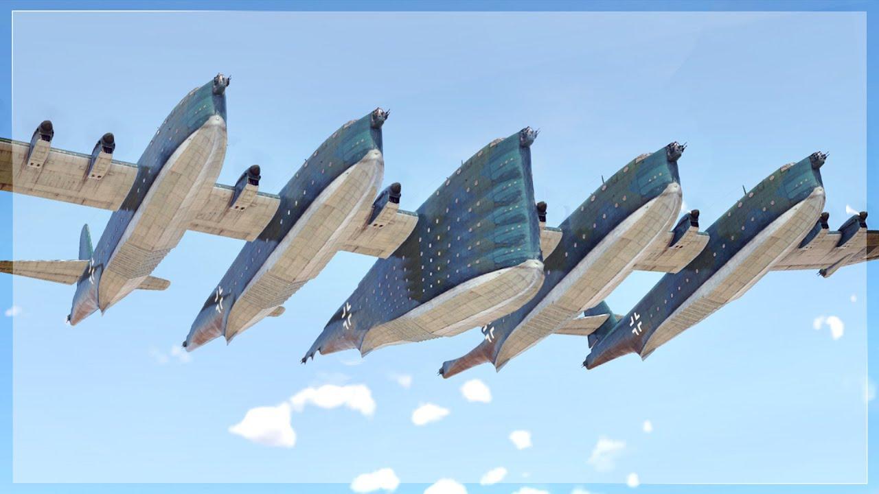 Download THE BIGGEST PLANE & BIGGEST FORMATION EVER IN WAR THUNDER