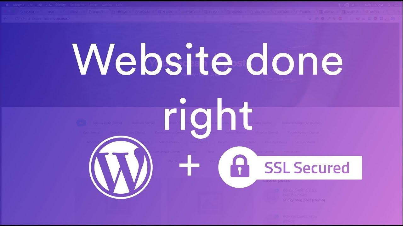 How to make WP site [DigitalOcean+Nginx+LetsEncrypt]
