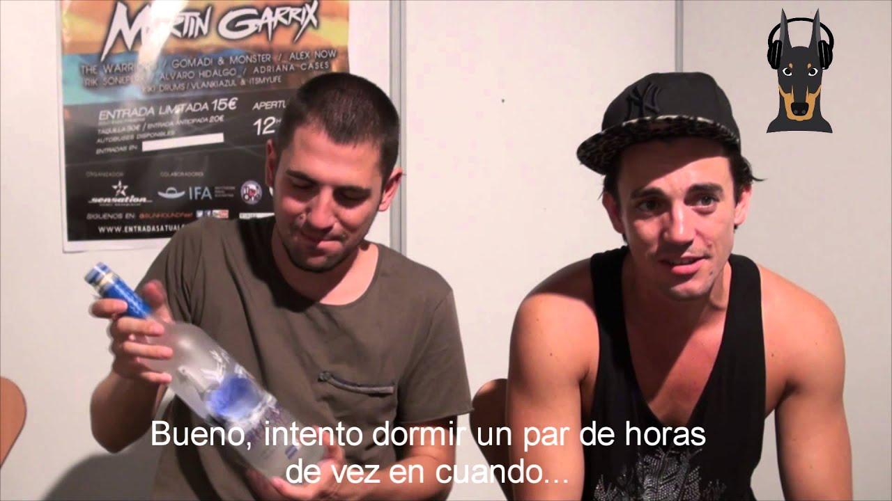 dimitri vegas mike interview sunhound festival barrio life youtube