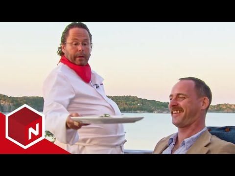 Rune serverer maten som Eyvind Hellstrøm   4-stjerners middag   TVNorge