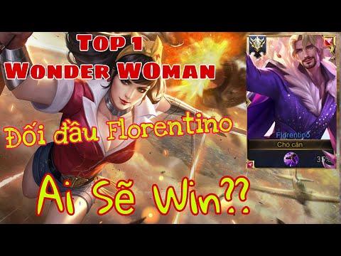 Top 1 Wonder Woman | Mùa 16 CHỊ ĐẠI DC đối đầu FLORENTINO trên Rank | Liên Quân Mobile