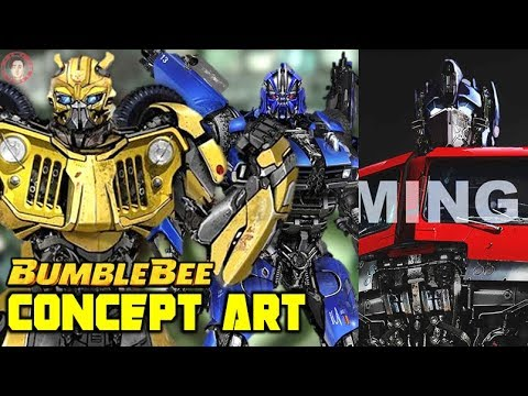 Bumblebee Movie Concept Art 2 Jeep Mode Dropkick Decepticon Warriors