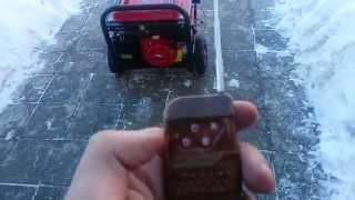 Бензиновый генератор RedVerg RD8000EBA c блоком автоматики и функцией дистанционного запуска смотреть