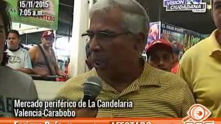 Dakazo en el mercado periferico de La Candelaria