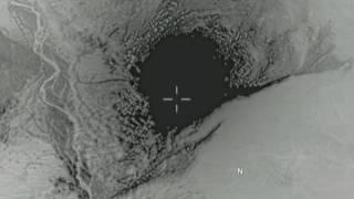 GBU-43/B Massive Ordnance Air Blast - Afghanistan - 04.13.2017 actual footage from U.S. Forces