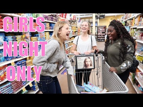 GIRLS NIGHT ONLY | YOU WERE HIDING THAT FROM ME?