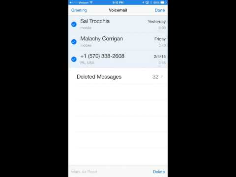 How to delete old emails on iphone 6 plus