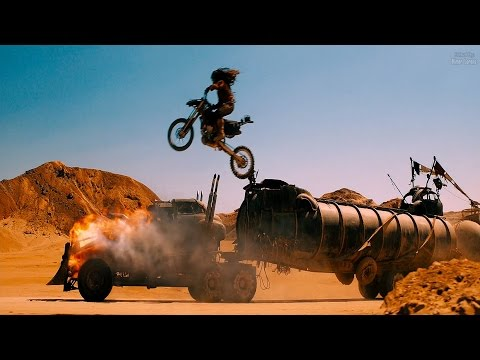 Mad Max: Fury Road (2015) -  Bikers Attack The Rig (4/10) [4K]