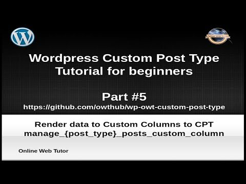 Learn wordpress basics tutorial for beginners (part#5) develop.