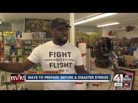 FEMA encourages emergency supply kits when preparing for disasters