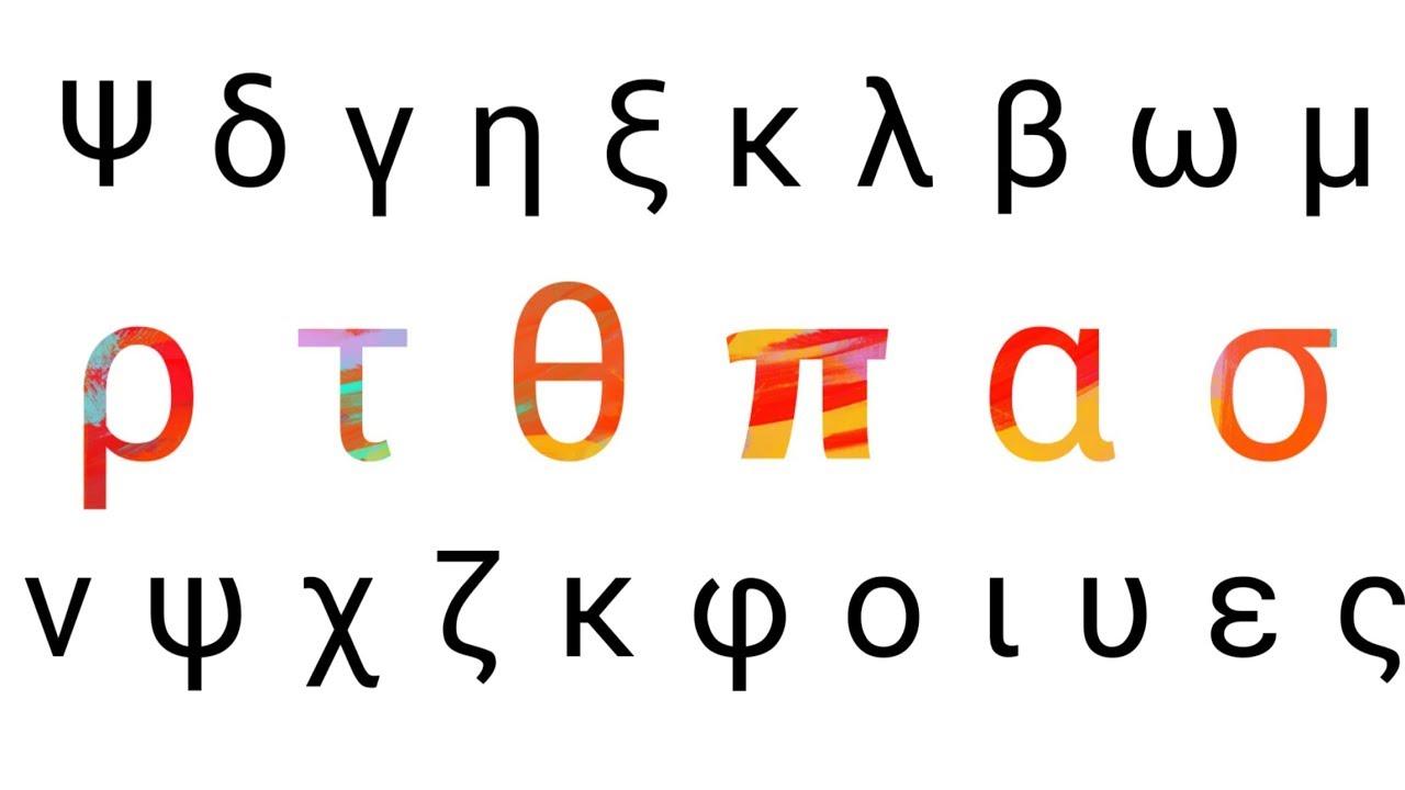 Greek Alphabets Alpha Beta Gamma Delta Theta Lambda Etc Both Capital Small Letters