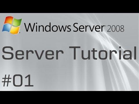 Windows Server 2008: #01 - Creating A Domain Controller