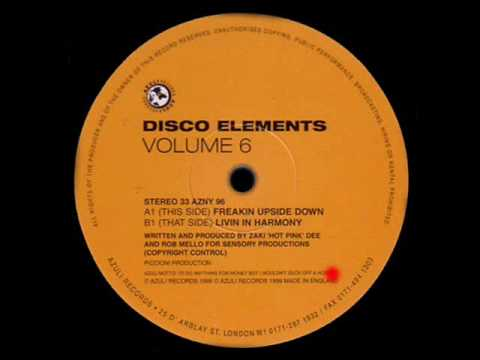 "Disco Elements ""Volume Six"" - Freakin Upside Down"