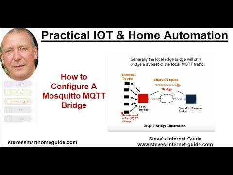 Mosquitto MQTT Bridge-Usage and Configuration