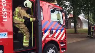 Uitslaande brand in Drouwenerveen