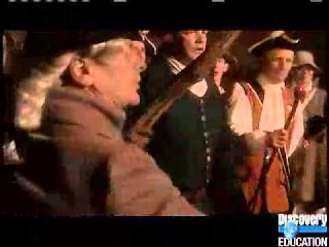 Reenacting the Boston Massacre