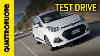 Hyundai i10 3 cilindri Test Drive - Quattroruote TV
