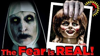 Download Film Theory: The TRUE STORY of The Conjuring Horror Movies - What REALLY Happened? Mp3 and Videos