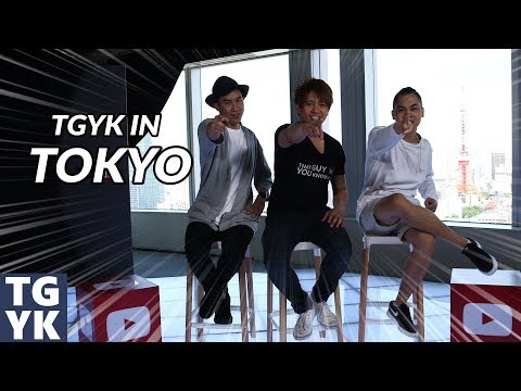 TGYK EVENT    YOUTUBE SPACE, TRAVEL TIPS & STUFF TO DO IN TOKYO