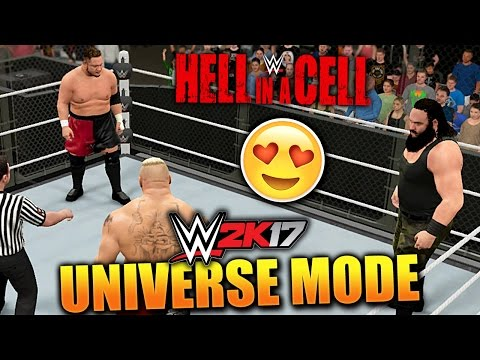 WWE 2K17 UNIVERSE MODE #53 'TWO HUGE HELL IN A CELL MATCHES!' (HELL IN A CELL PPV PART 3)