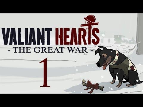 Valiant Hearts: The Great War - Прохождение игры на русском [#1] Казарма
