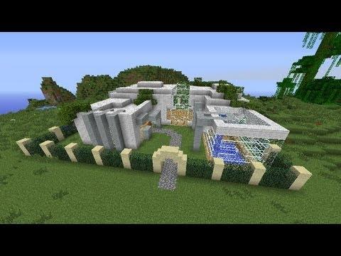 Budowle W Minecraft - Planet Minecrat - ''Nowoczesny Dom'' / ''Modern House''