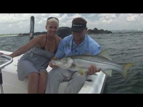 Hot New Jersey Snook Fishing! Stuart Florida Snook