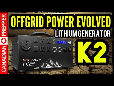 NEW 2019! The Inergy APEX Generator: Endless Off-Grid Power | Inergy Kodiak
