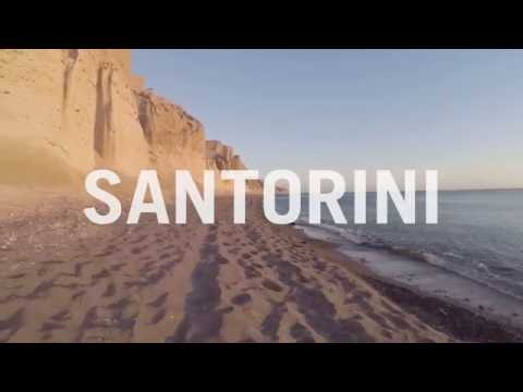 This Incredible Drone Footage of Santorini Will Take Your Breath Away | Travel + Leisure