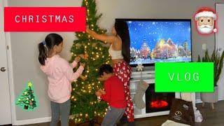 CHRISTMAS DECOR VLOG 🎄🎅🏼