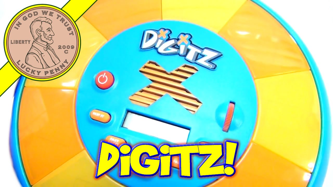 Digitz Electronic Math Learning and Timed Math Practice Game 2007 ...