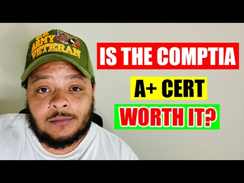 Is the A+ Certification Worth Getting?
