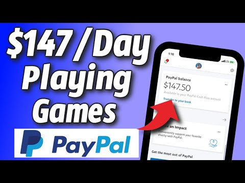 Earn $147 Per Day By Playing Games PayPal (NEW APP!) | Apps That Pay in 2021