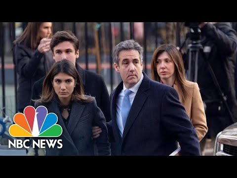 Former Trump Lawyer Michael Cohen Sentenced To 3 Years In Prison After Guilty Plea   NBC News