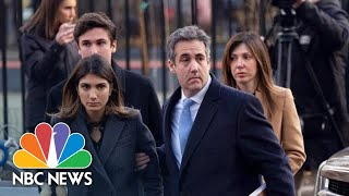 Former Trump Lawyer Michael Cohen Sentenced To 3 Years In Prison After Guilty Plea | NBC News
