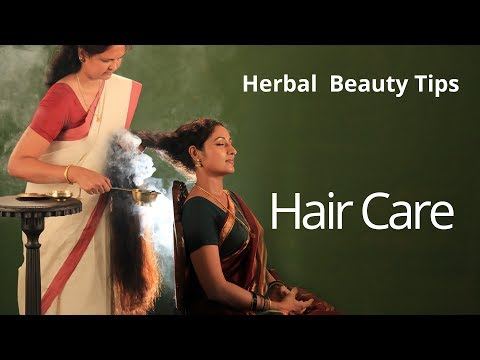 Organic Herbal Beauty Tips for Fragrant Hair | How to keep hair smelling good without shampoo