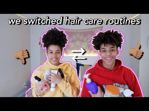 I Switched Hair Care Routines With My BROTHER