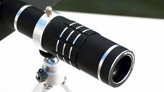 Samsung Galaxy S9 / S9+ 18X Telephoto lens (Zoom Lens / Telescope Lens) Demo / Test