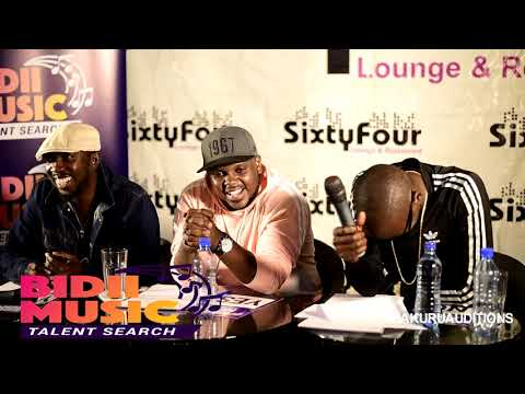 Bidii Music Talent Search: Nakuru Edition (Lufi) Audition 2