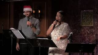 """Nathan Lucrezio & Kathryn Allison - """"All I Want For Christmas is You"""" (Mariah Carey)"""