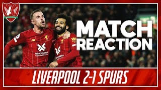 LFC WILL NOT BE DENIED (WFM) | Liverpool 2-1 Spurs Match Reaction
