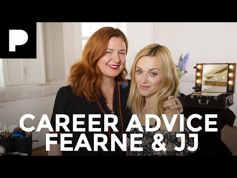 Fearne Cotton & JJ - Makeup Artist Career Advice