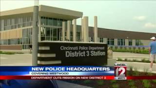 New D3 police headquarters cuts ribbon
