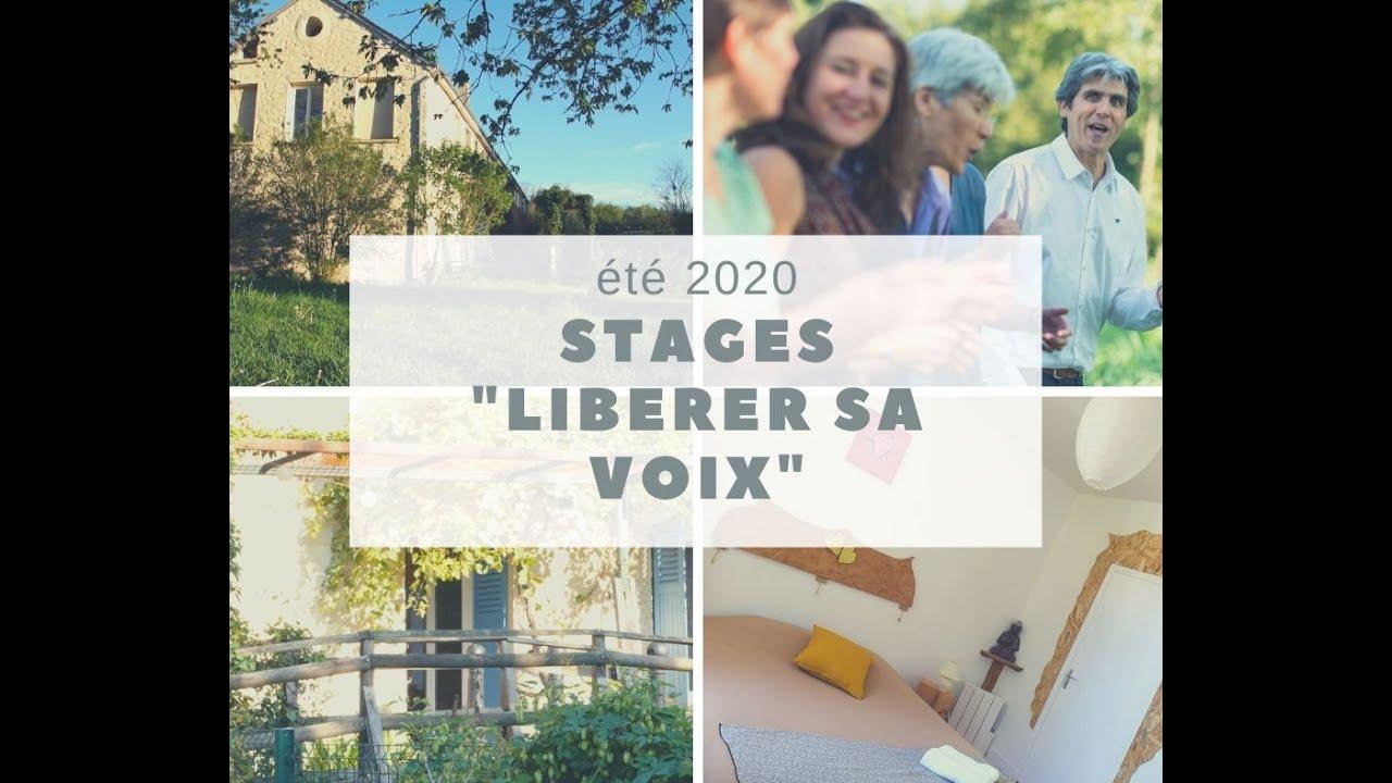 Eté 2020 Libérer sa voix