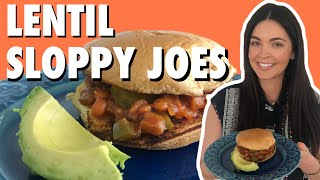 Kate Lee Makes Lentil Sloppy Joes in Quarantine | What Would Katie Eat?